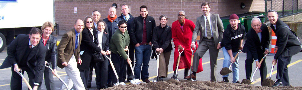 Ground Breaking of the Ansin Building