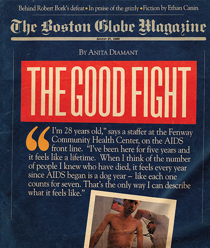 The Good Fight - Boston Globe 1989