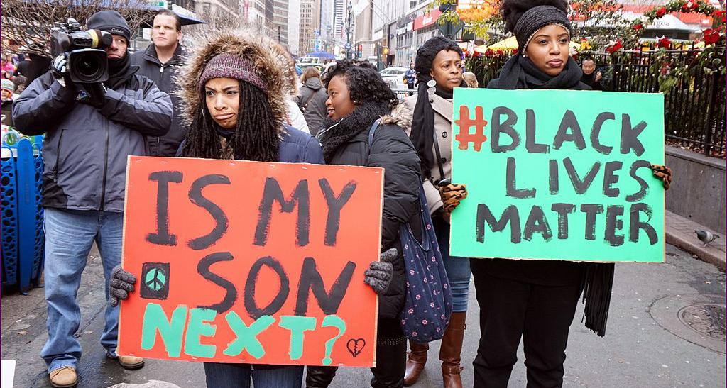 lack Lives Matter Protest
