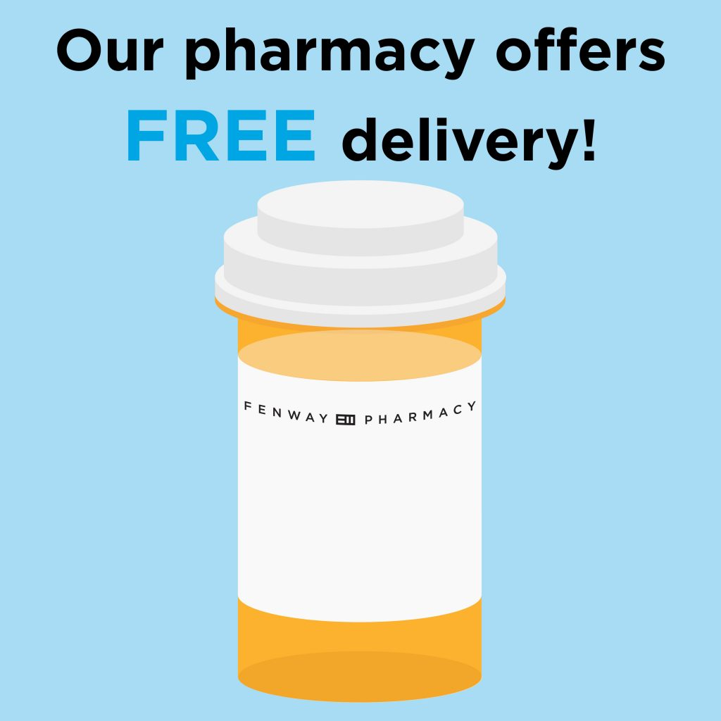 Our pharmacy offers free delivery!