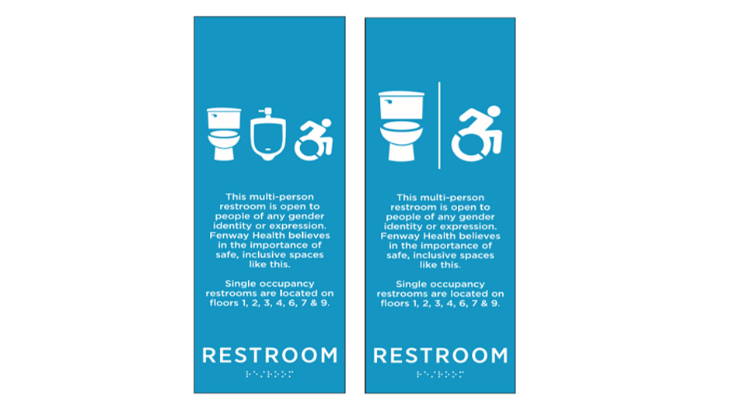 Fenway Health To Make Onsite Multi-Person Restrooms All Gender