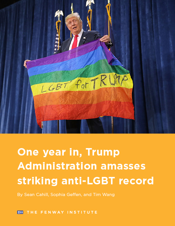 One Year in, Trump Administration Amasses Striking Anti-LGBT Record Brief Cover