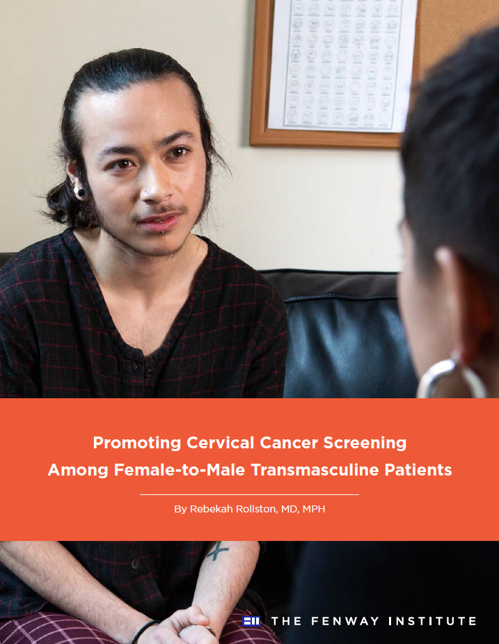 HPV vaccination and regular cervical cancer screening needed to reduce rates of cervical cancer among transmasculine men